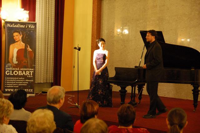 Recital Tour in Czech Republic 2012 (in 9 cities) November 8, in Varnsdorf